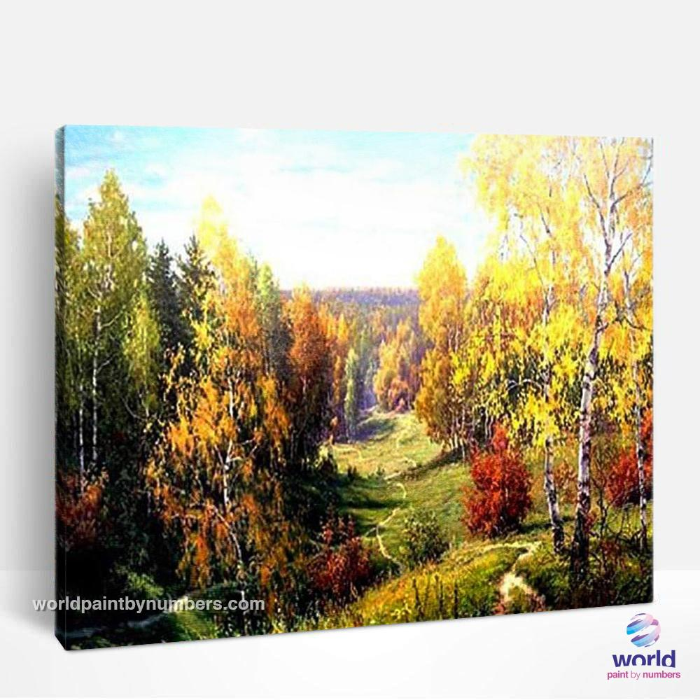 Forest Trail - World Paint by Numbers™ Kits DIY