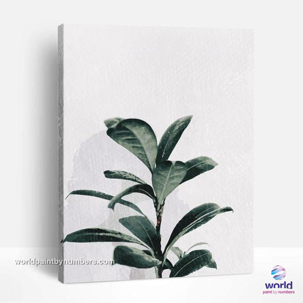 Lemon Tree - Leaf Collection - World Paint by Numbers™ Kits DIY