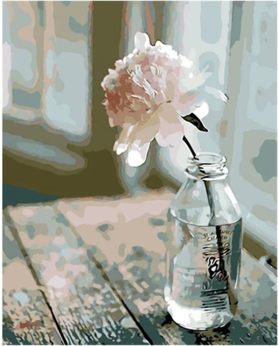 Lonely Rose - World Paint by Numbers™ Kits DIY