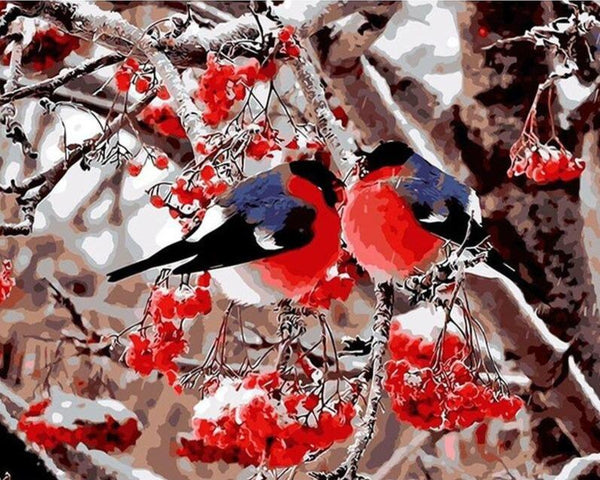 Lovers Birds - World Paint by Numbers™ Kits DIY