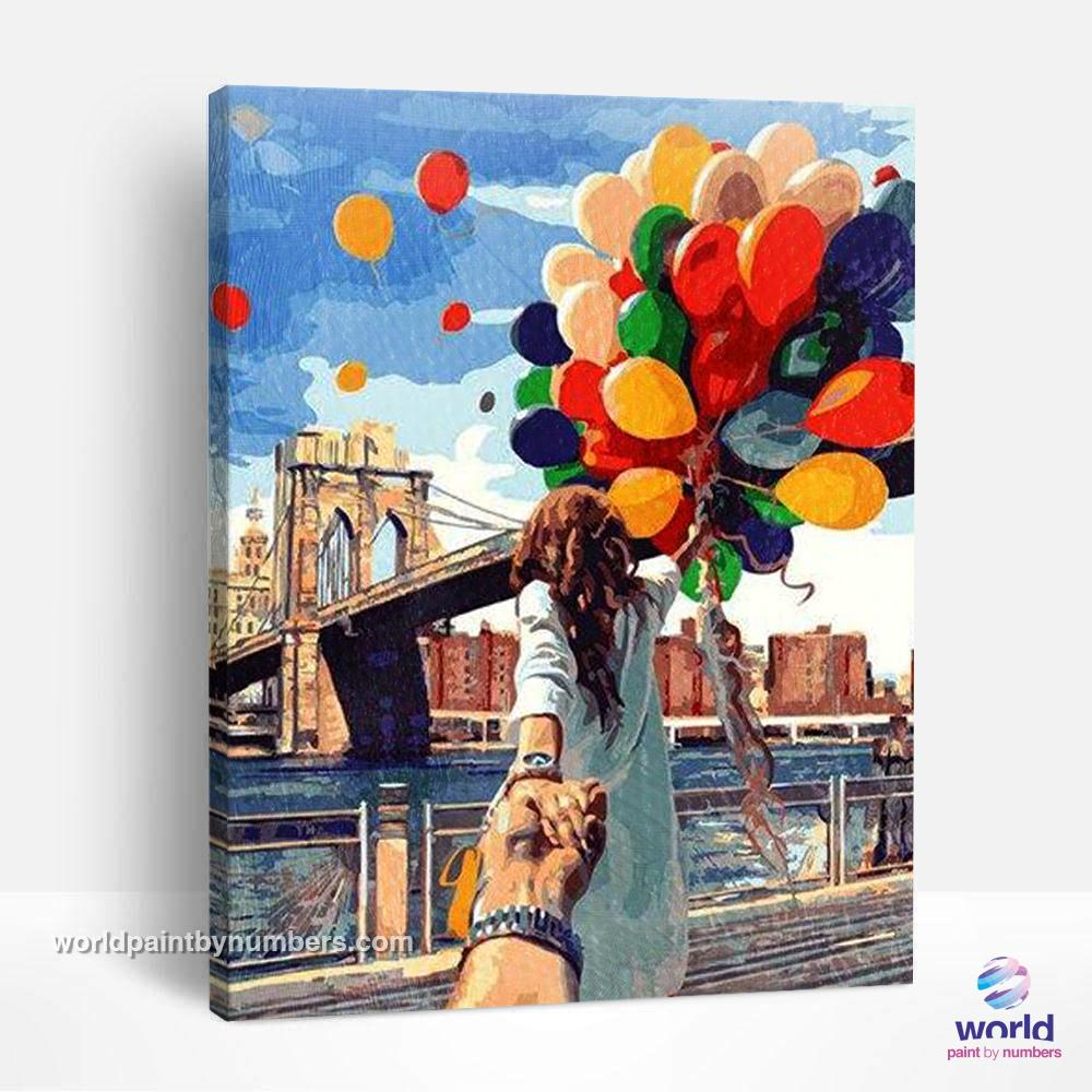 Me and Her - World Paint by Numbers™ Kits DIY