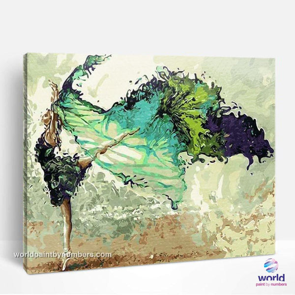 Modern Ballet Dancer - World Paint by Numbers™ Kits DIY