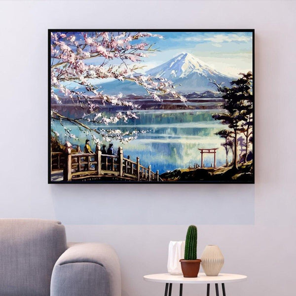Mount Fuji, Japan - World Paint by Numbers™ Kits DIY