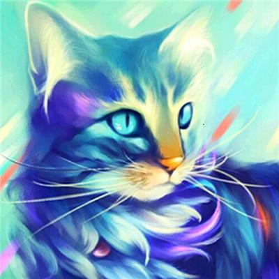 Neon Cat - World Diamond Painting™ 5D DIY