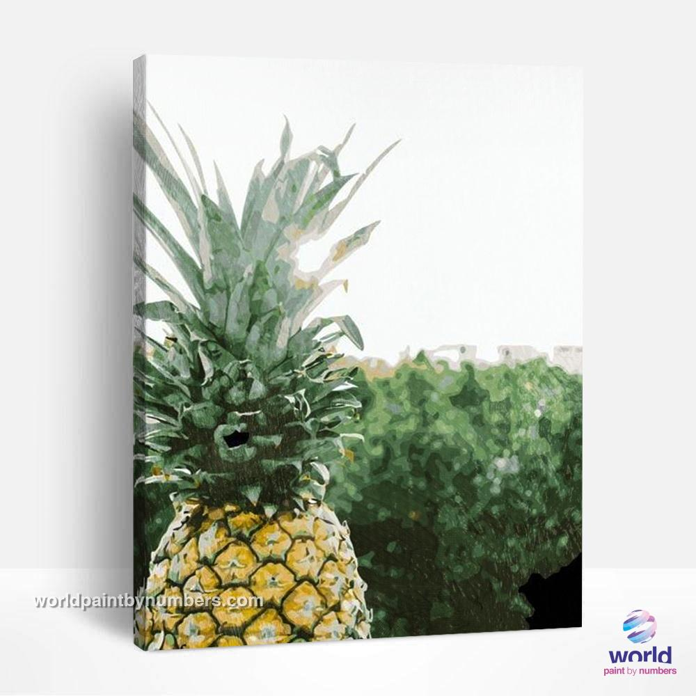 Pineapple - Leaf Collection - World Paint by Numbers™ Kits DIY
