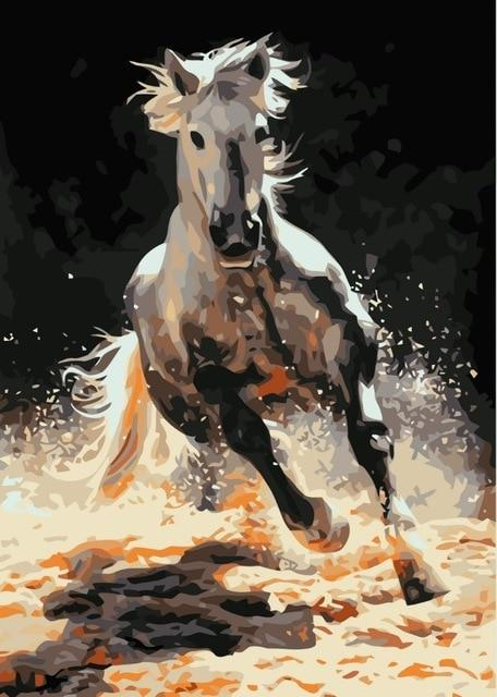 Purebred Arabian Stallion - World Paint by Numbers™ Kits DIY