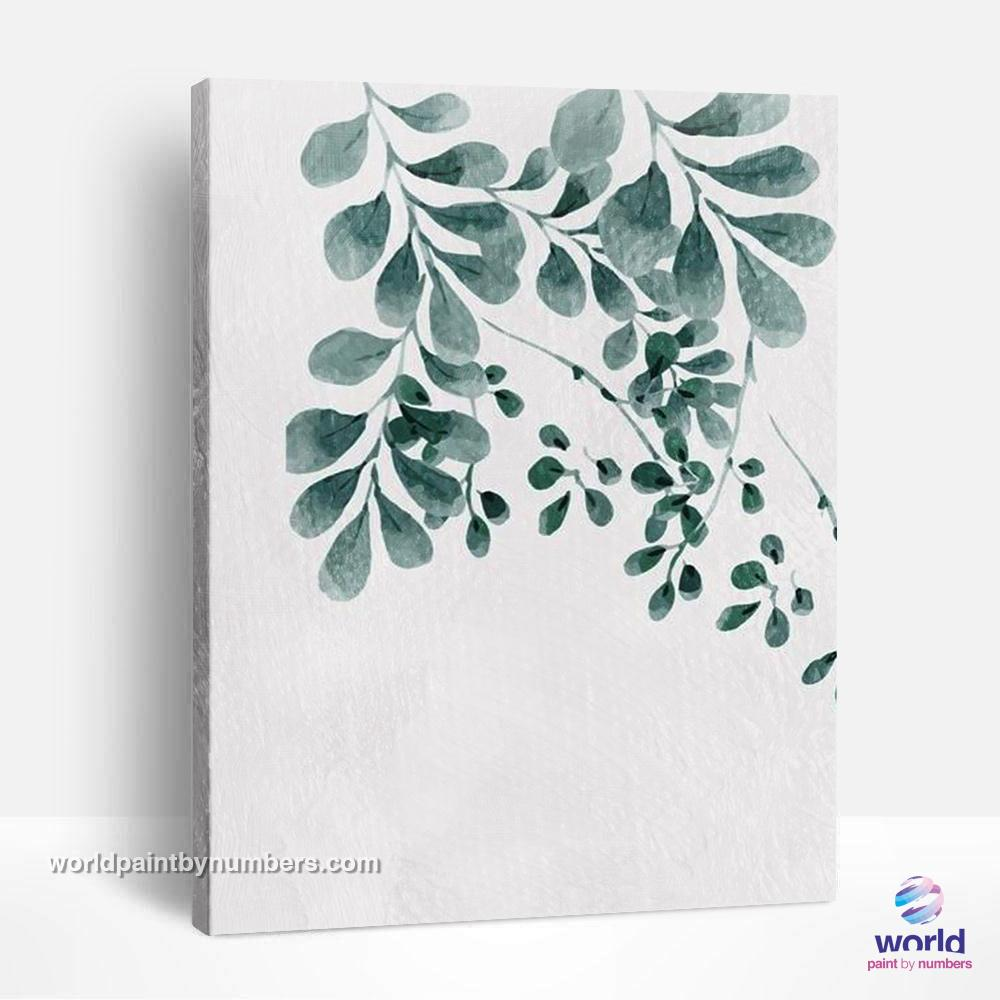 Rue - Leaf Collection - World Paint by Numbers™ Kits DIY