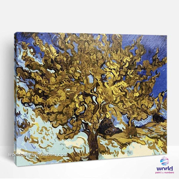 The Mulberry Tree by Vincent Van Gogh - World Paint by Numbers™ Kits DIY
