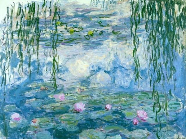 Water Lilies by Claude Monet - World Paint by Numbers™ Kits DIY
