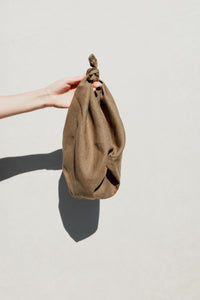 Furoshiki Bag in Grass Linen
