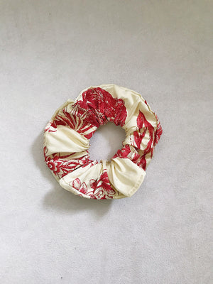 Raw Silk Scrunchies