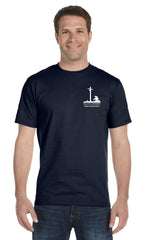 Brother's Keeper T-Shirt (Navy/Gray)