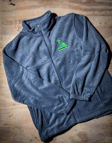 Dark Grey Fleece Jacket