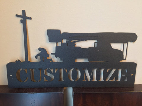 Customized Steel Logo Sign
