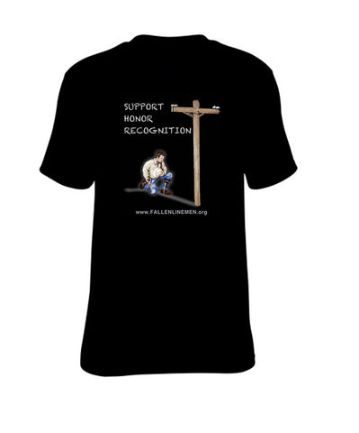 Kneeling Lineman Shirt