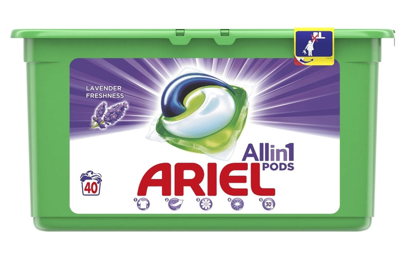 Ariel - All in 1 - Lavendel Freshness - 40 Waspods