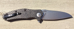 Zero Tolerance 0770CF Carbon Fiber Spring Assisted Flipper - Free Shipping
