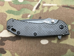 Zero Tolerance Limited Edition 0566BWCF Carbon Fiber Spring Assisted Flipper - Free Shipping