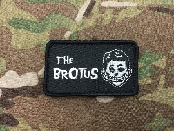 The Brotus (Skull) Patch - Free Shipping