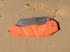 Sniper Bladeworks Orange DMF S30V - Free Shipping