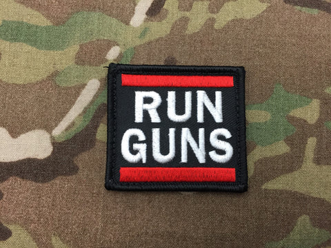 Run Guns Patch - Free Shipping