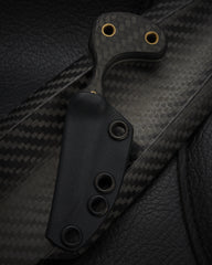 Ban Tang Carbon Fiber Last Ditch with Mosaic Pin - Free Shipping