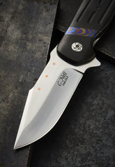 Chad Nell Zirconium and Timascus Patton - Free Shipping