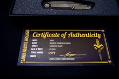 Marfione Custom Tactical Knife Invitational Ultimate EDC Set - Free Shipping