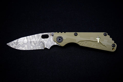 Duane Dwyer Custom Cross SnG with Damascus - Free Shipping