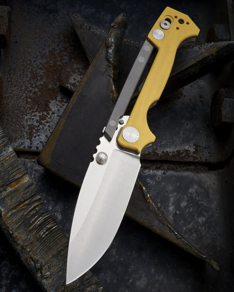 Andrew Demko Contoured Yellow G10 AD15 - Free Shipping