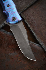 Allen Elishewitz Timascus and Damascus Silver Fox - Free Shipping