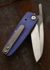 Daniel Fairly One Off Ti Nakago Bottle Opening Friction Folder - Free Shipping