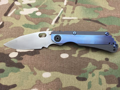 Duane Dwyer Custom SnG Bowie Stepped Titanium with Ambi clip - Free Shipping