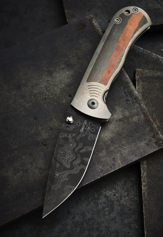 Les George Forged Superconductor and Damascus FM1 - Free Shipping