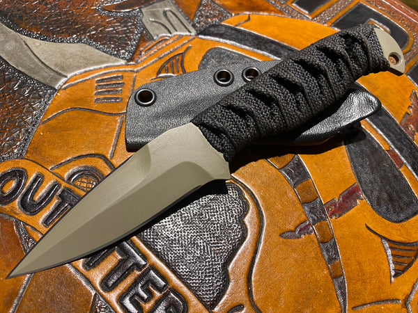 Joe Watson Tan Cerakote Elite Double Edge Magni