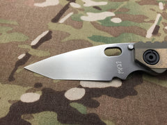 Duane Dwyer Custom SnG Tanto Stepped Titanium with Ambi clip - Free Shipping