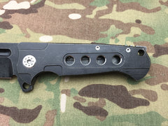 Andre De Villiers Midtech Butcher Gen 2 Blackout with holes - Free Shipping