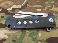 Andre De Villiers Midtech Butcher Gen 2 Blue with holes - Free Shipping