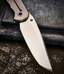 Michael Raymond Tanto Estrella with Shockwave Timascus - Free Shipping