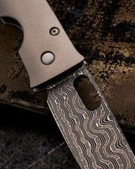 Tom Mayo Damascus Lefty Medium TnT