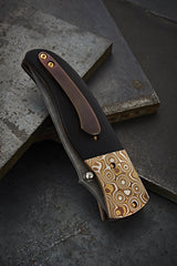 Sean O'Hare Mokume and Damascus Eclipse - Free Shipping