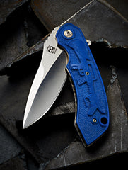 Olamic One Off Wayfarer Carved G10 - Free Shipping
