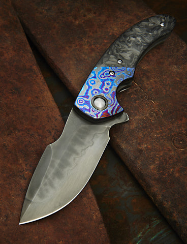 Walter Randolph Deimos with Hamon and Black Timascus - Free Shipping