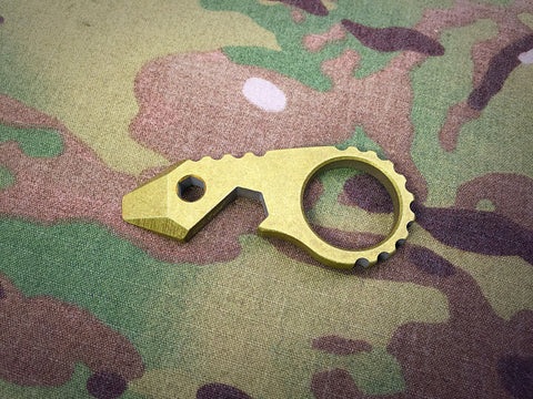 "JW Knives 1/4"" Brass G5 Bandicoot - Free Shipping"