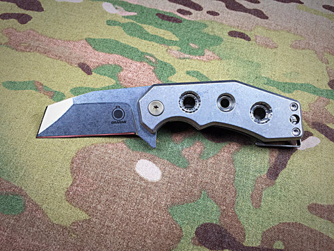 Graham Knives Stubby RAZZELCLIFFE Mid-Tech Flipper - Free Shipping