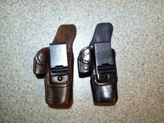 Sheriff of Baghdad Leather Condom Holster - Free Shipping