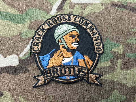 Crack House Commando Patch - Free Shipping