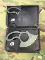 Harp Leather Wallet and Wilmont Knives NEW Ultralight Little Skinner Combo - Free Shipping