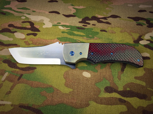 Pohan Leu Red and Silver LSCF BluePhin Flipper - Free Shipping