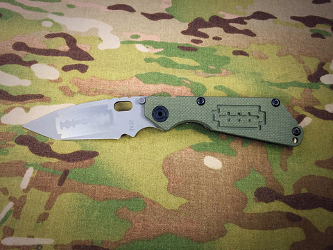 Duane Dwyer One Off Custom Razor Pattern Tanto SnG - Free Shipping
